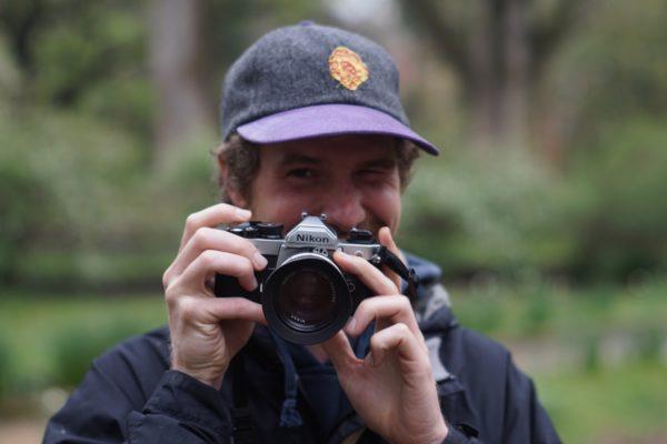 Will Grace at the Coker Arboretum