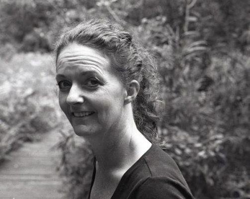 Lori Cyree at the NC Botanical Gardens